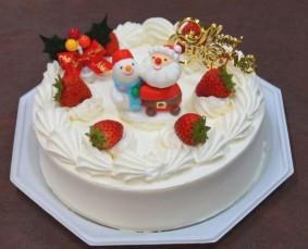 Xmasデコレーションケーキ