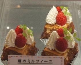 苺のミルフィーユ